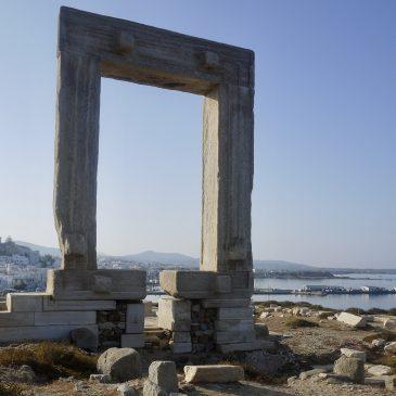 De portara van Naxos, de poort naar nergens