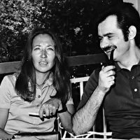 Foto: Oriana Fallaci en Alékos Panagoúlis. Bron: http://www.theapricity.com. Bericht: 40 jaar geleden, de aanslag op Papadopoulos, www.andergriekenland.nl