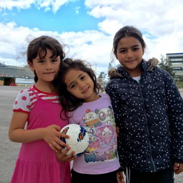 Syriërs op Syntagma.