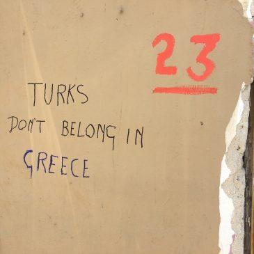 Heikele internationale kwesties voor de regering Tsipras.