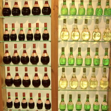 Bezoek aan de wijnbeurs Oenos
