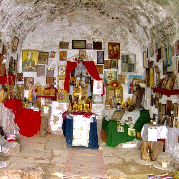 Bezoek aan het klooster van Kessariani