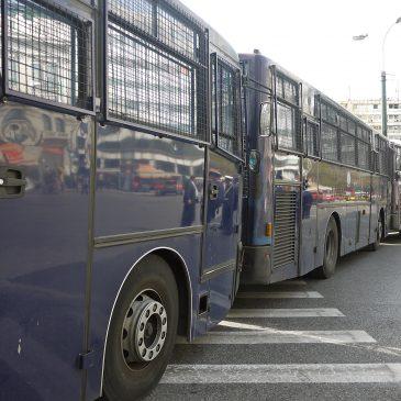 Griekse viering van onafhankelijkheidsdag gesmoord in politie-macht