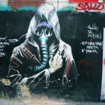 Foto-reportage: Street Art in wijk Exárchia, Athene.