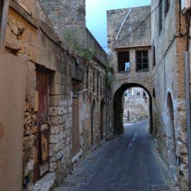 Foto: Pythagóra-strat in Rhodos-stad.