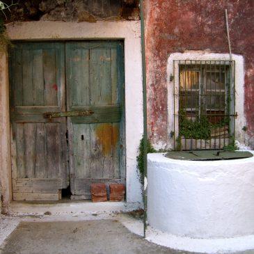 Foto-album: dorp Doukades op Corfu – juli 2008