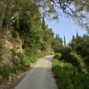 Foto-album: westkust Corfu – juli 2008