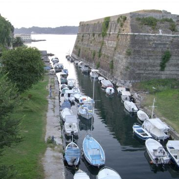 Het Nieuwe Fort (Néo Froúrio), Corfu-stad