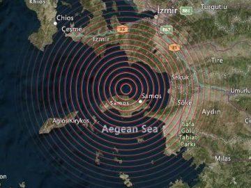 Aardbevingen en animositeit tussen Griekenland en Turkije.